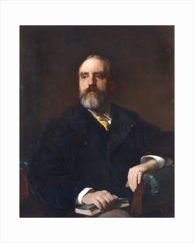 Portrait of Walter Weldon (1832-1885) by Frank Holl