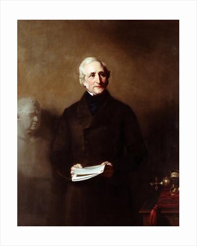 Portrait of Edward Sabine (1788-1883) by Stephen Pearce