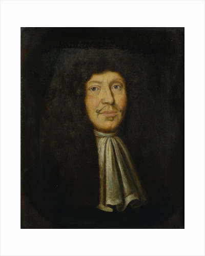 Portrait of Johann Christoph Sturm (1635-1703) by Heyman Dullaert