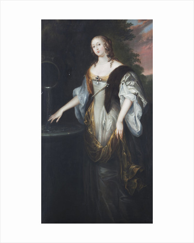 Portrait of 'woman with a ring' by Anonymous