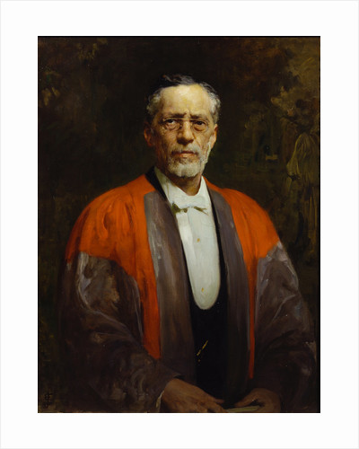 Portrait of Raphael Meldola (1849-1915) by Solomon Joseph Solomon