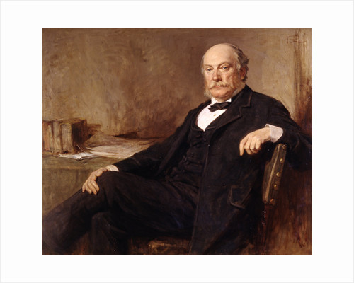 Portrait of John William Strutt. 3rd Baron Rayleigh (1842-1919) by George Reid