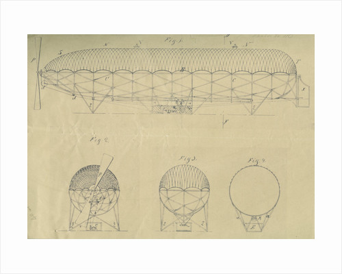 Airship design by Adolf Runge