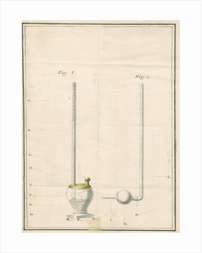 Experimental equipment to test electrical conductivity in a vacuum by William Morgan