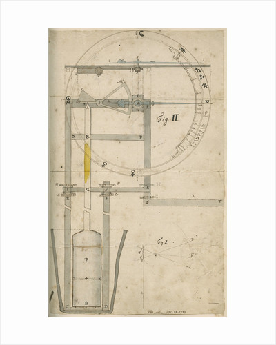 Mechanical thermometer by Cromwell Mortimer