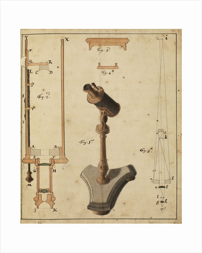 Catoptric microscope by Robert Barker