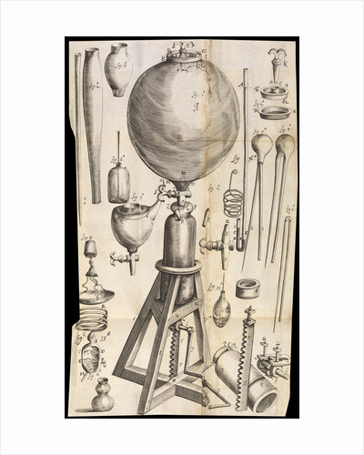 Robert Boyle's air pump by Anonymous