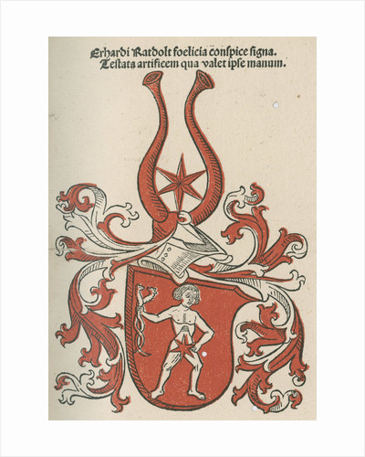 Coat of arms from 'Cocordatia astronomie cu theologia' by Anonymous