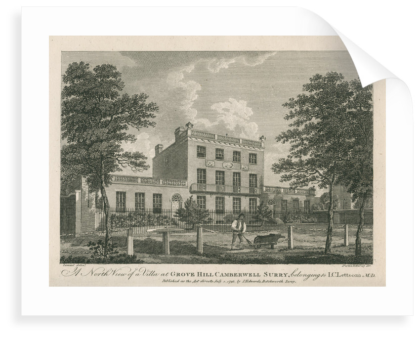 Villa at Grove Hill, Camberwell, in Surrey by unknown