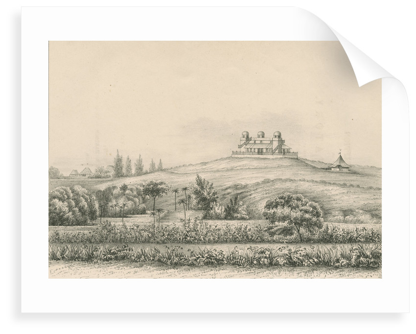 'Trevandrum Observatory...from the South West' by Anonymous
