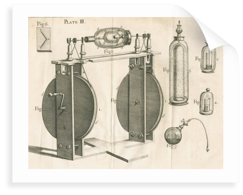 Hauksbee's experiments on light and phosphorus by unknown