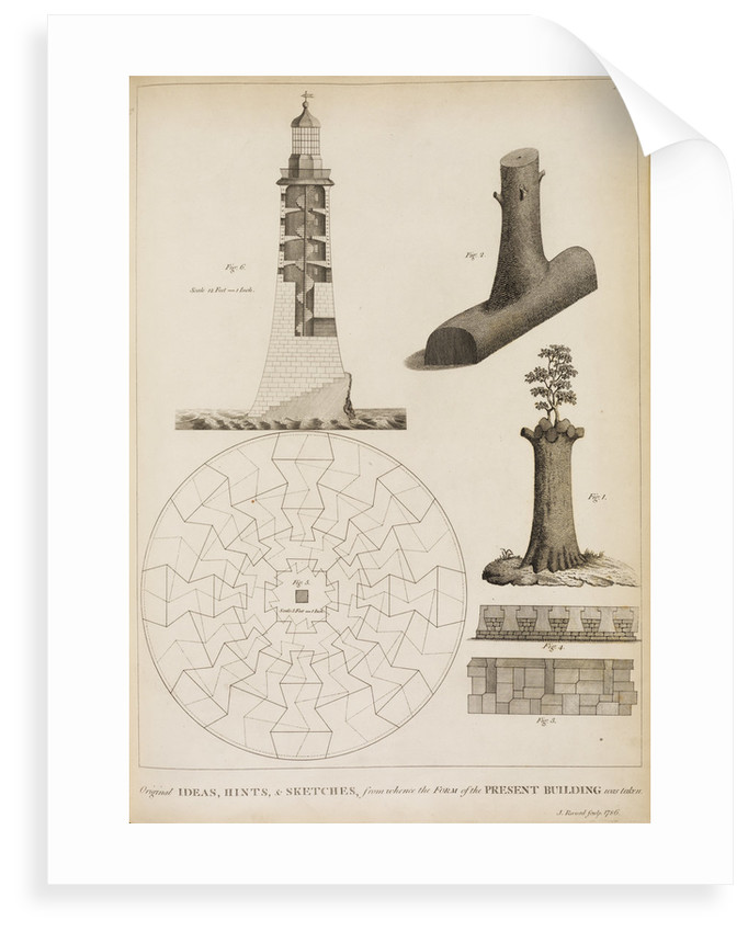 Ideas for Smeaton's Lighthouse on the Eddystone Rocks by James Record