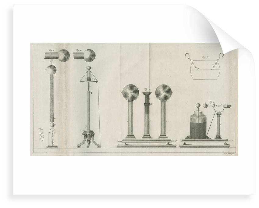 Apparatus for electrical experiments by Barend de Backer