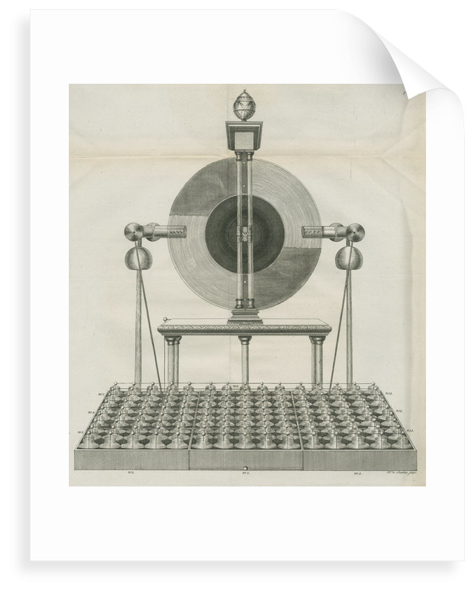 Electrical machine at Teyler's Museum by Barend de Backer
