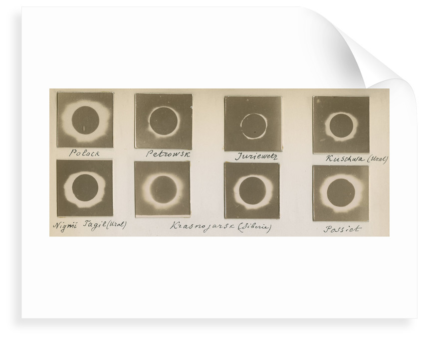 Solar eclipse of August 1887 by unknown