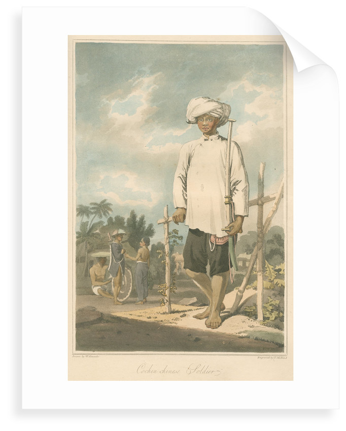 'Cochin-chinese soldier' by Thomas Medland