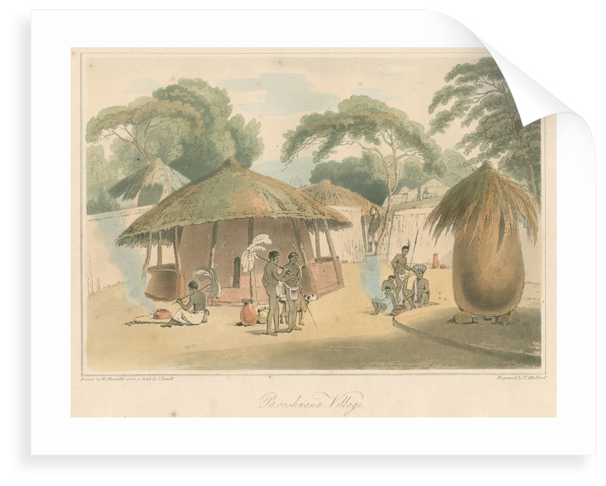 'Booshuana Village' by Thomas Medland
