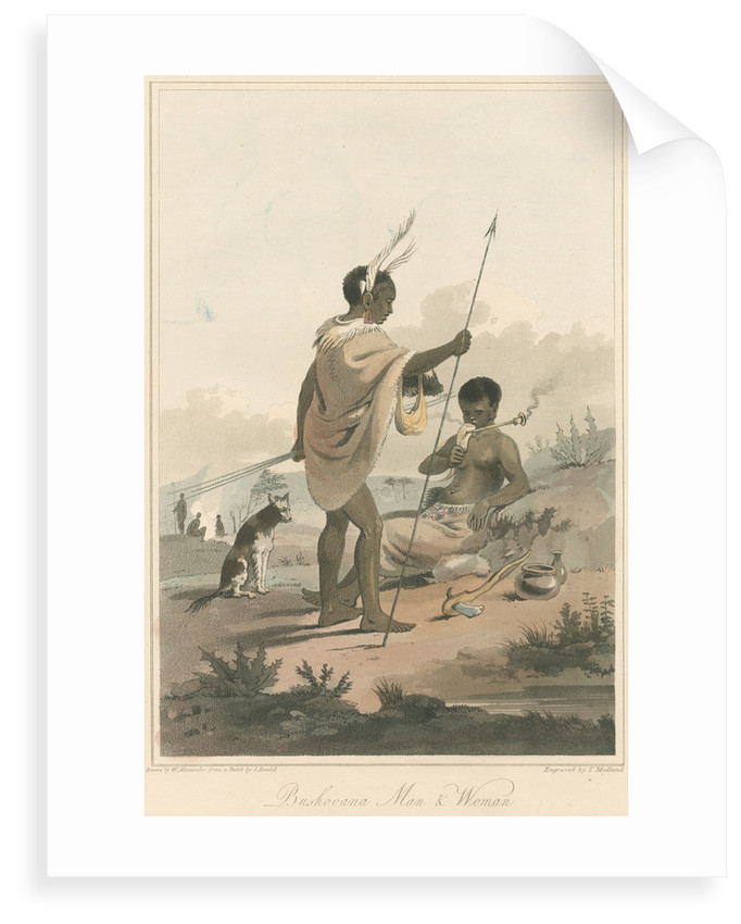 'Booshooana Man & Woman' by Thomas Medland