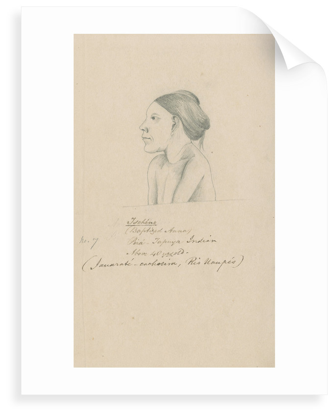 Portrait of Tschéno by Richard Spruce