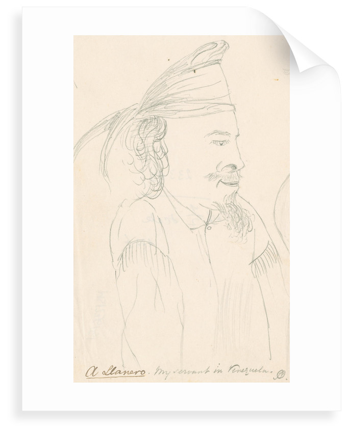 Portait of Spruce's attendant at Maypures by Richard Spruce