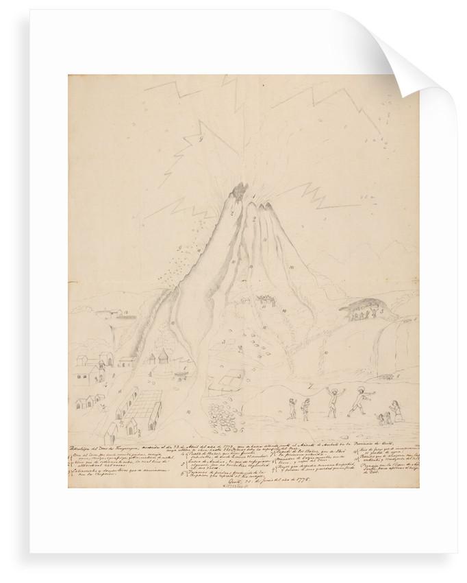 Eruption of Tungurahua by Richard Spruce