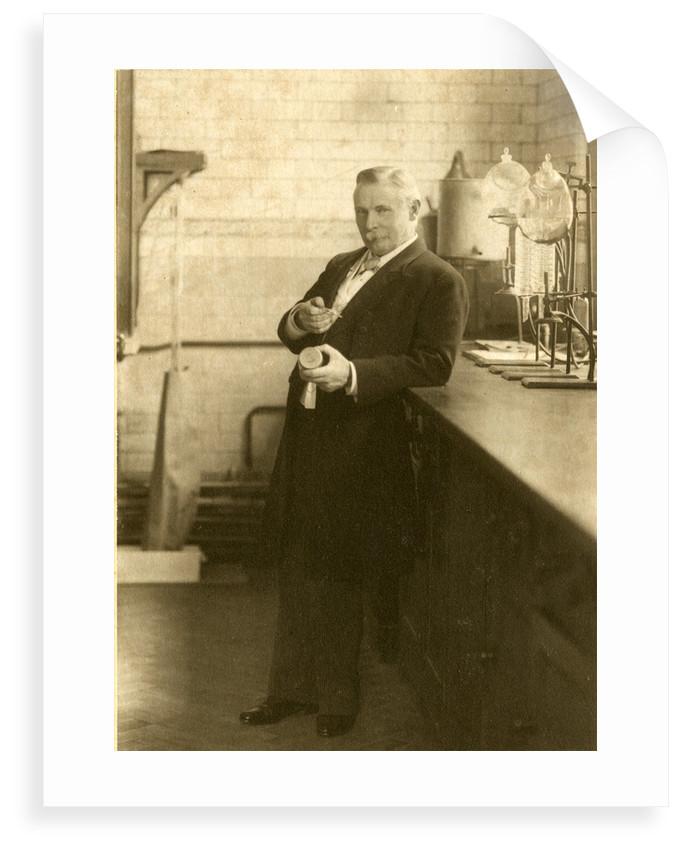 Portrait of Thomas Edward Thorpe by Elliott & Fry