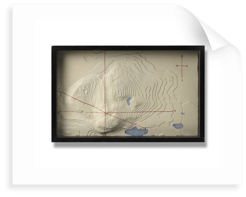Model of Arthur's Seat by Ordnance Survey of Great Britain