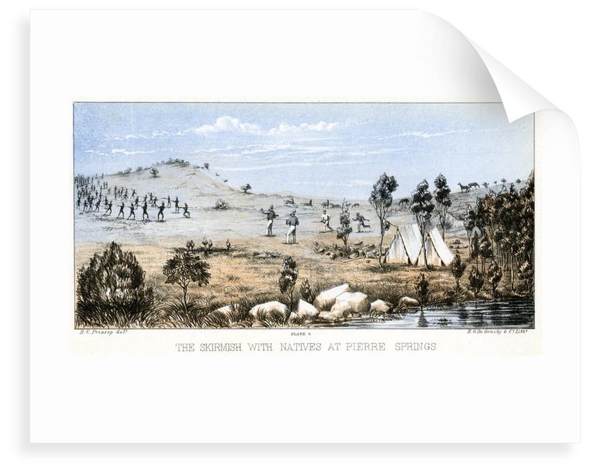 Skirmish at Weld Springs by Henry Charles Prinsep