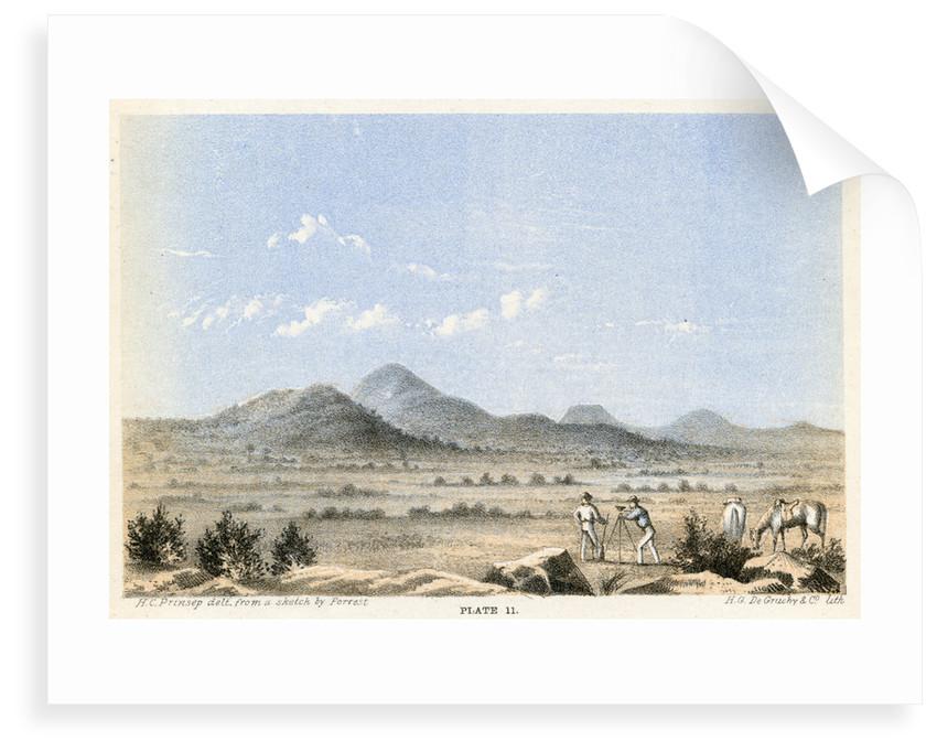 Mount Rawlinson by Henry Charles Prinsep