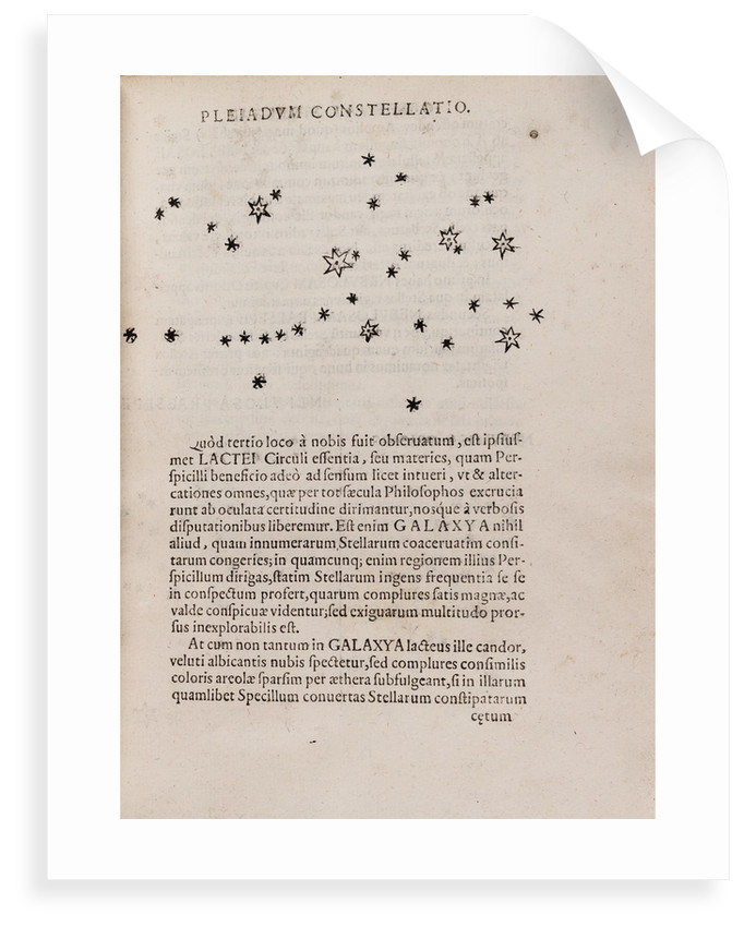 Pleiades star cluster by After Galileo Galilei
