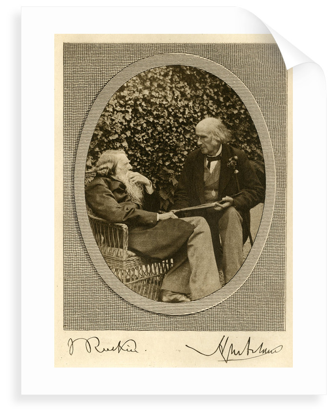 Portrait of Henry Wentworth Acland and John Ruskin by unknown