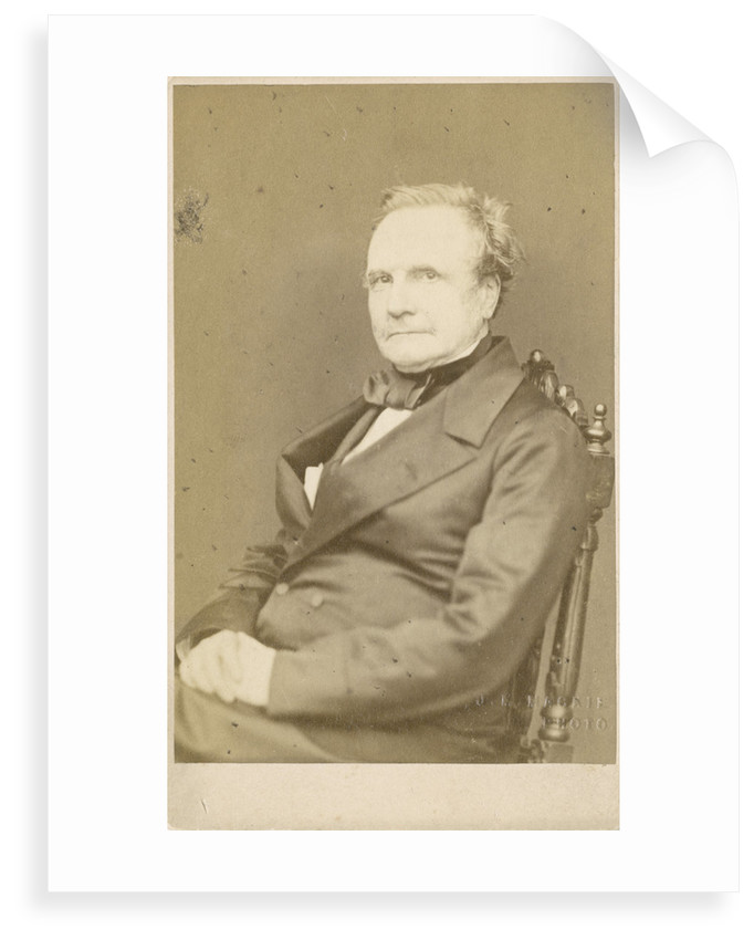 Portrait of Charles Babbage (1791-1871) by J M Mackie