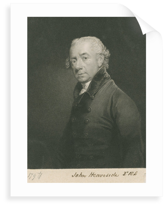 Portrait of John Heaviside (bapt. 1748-d.1828) by John Cochran