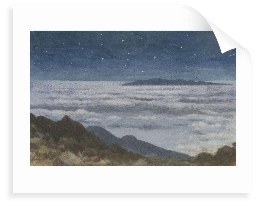 Cloud horizon by Charles Piazzi Smyth
