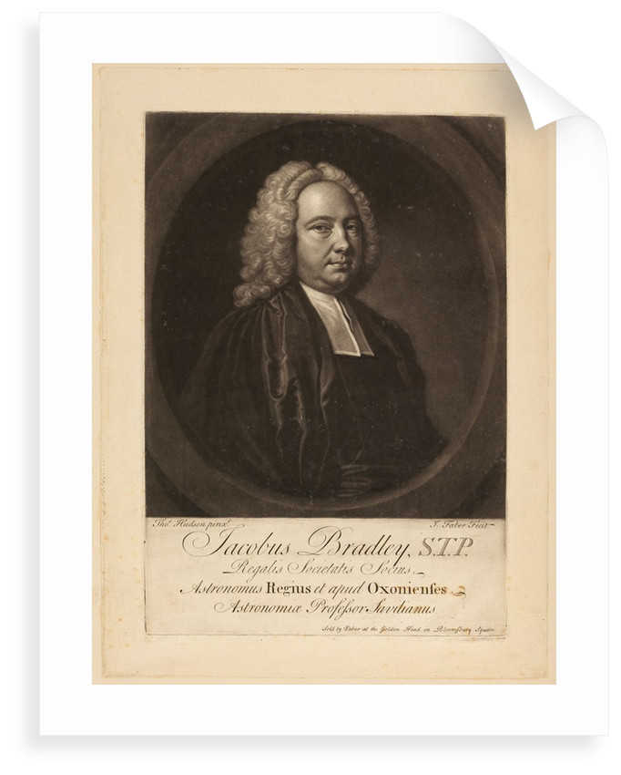 Portrait of James Bradley by John Faber the younger