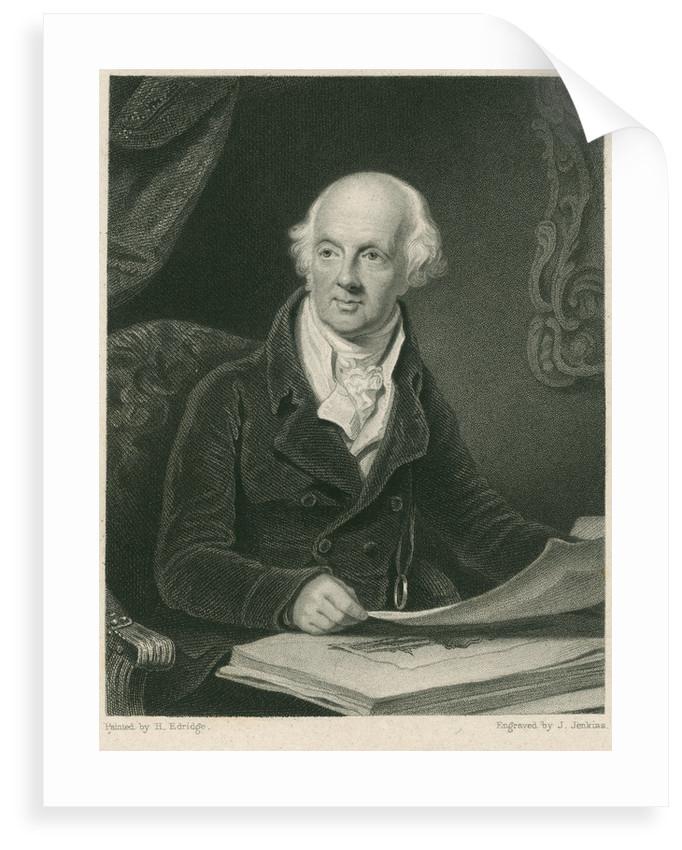 Portrait of Sir Abraham Hume (1749-1838) by Joseph John Jenkins