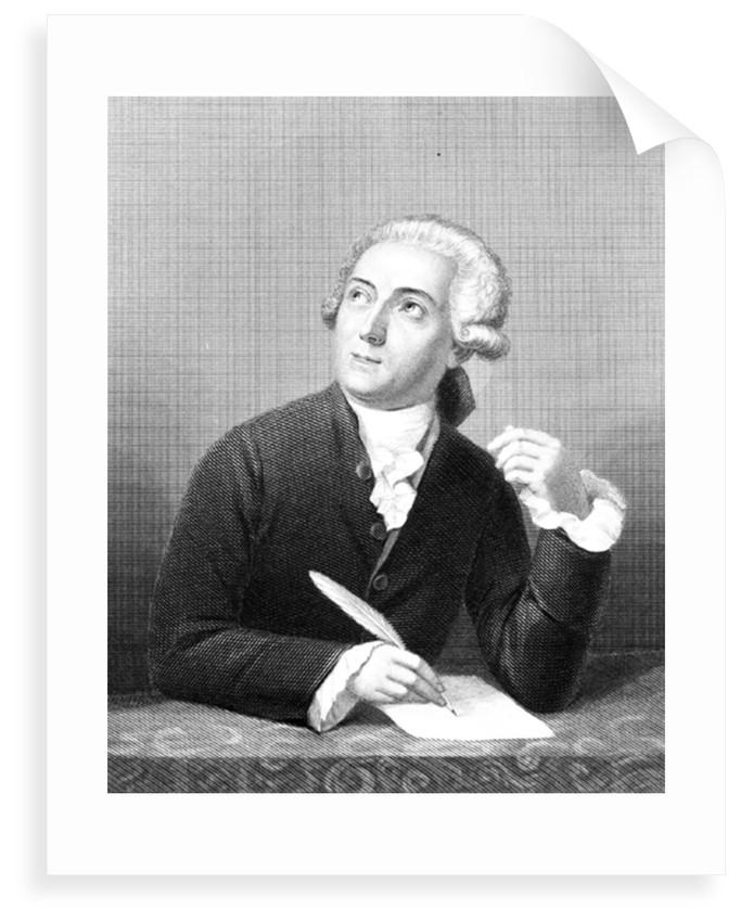 Portrait of Antoine-Laurent Lavoisier (1743-1764) by Charles William Sharpe