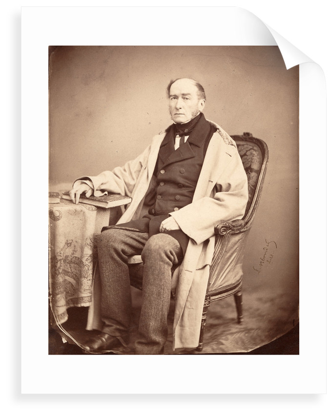 Portrait of John William Lubbock (1803-1865) by Alphonse Le Blondel