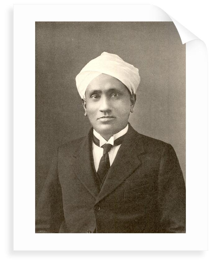 Portrait of Chandrasekhara Venkata Raman (1888-1970) by Anonymous
