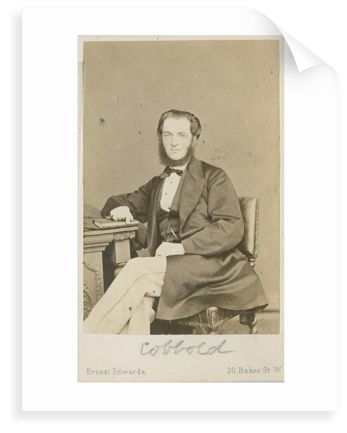 Portrait of Thomas Spencer Cobbold (1828-1886) by Ernest Edwards