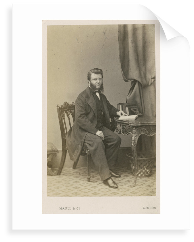 Portrait of Frederick Augustus Abel (1827-1902) by Maull & Co