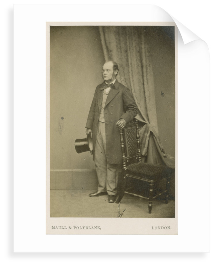 Portrait of David Thomas Ansted (1814-1880) by Maull & Polyblank