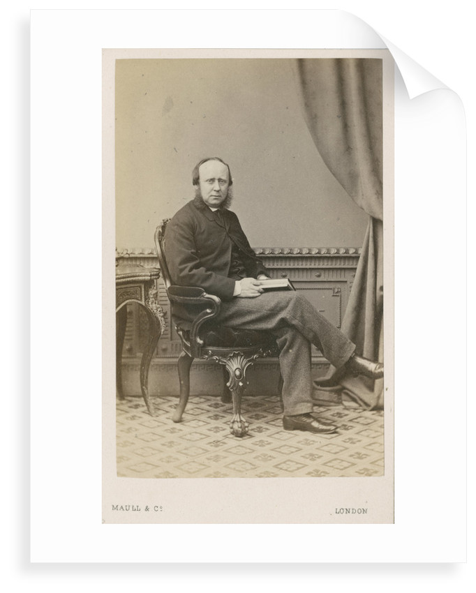 Portrait of Charles Spence Bate (1819-1889) by Maull & Co