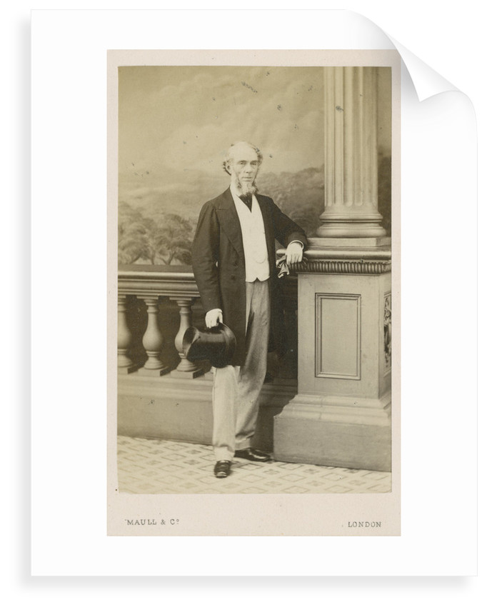 Portrait of James Bateman (1811-1897) by Maull & Co
