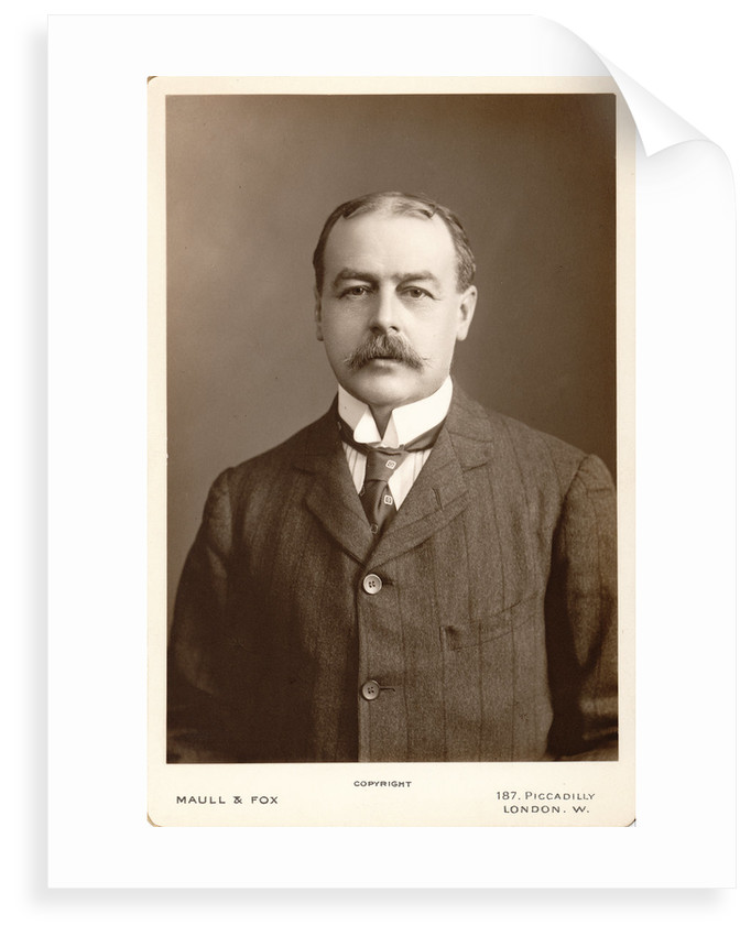 Portrait of William Blaxland Benham (1860-1950) by Maull & Fox