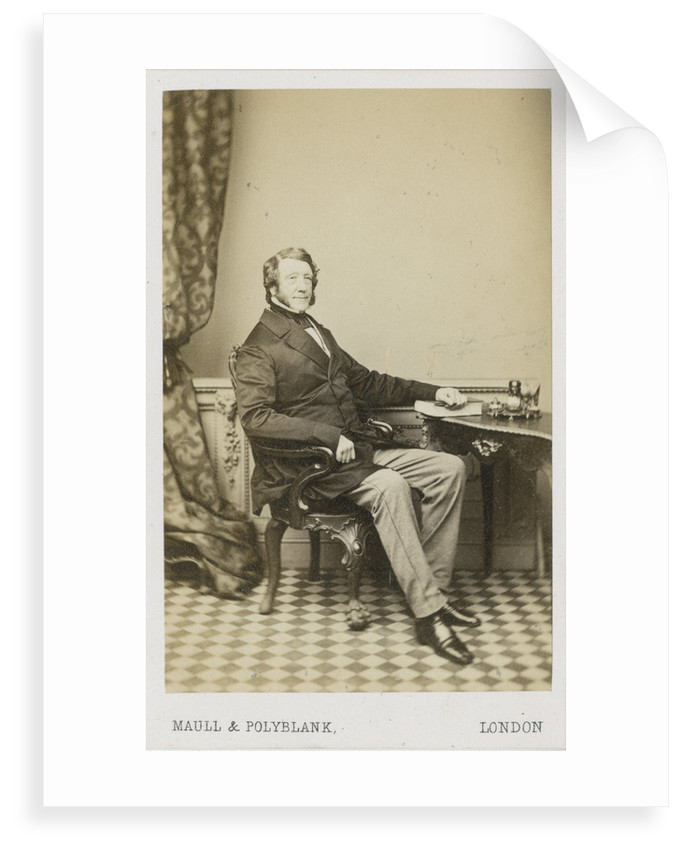 Portrait of John George Bonner (1783-1867) by Maull & Polyblank