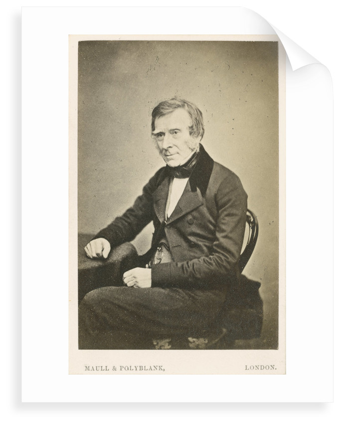 Portrait of Benjamin Collins Brodie (1783-1862) by Maull & Polyblank