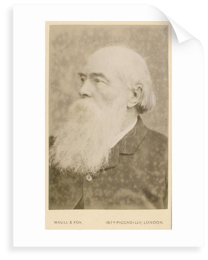 Portrait of John Charles Bucknill (1817-1897) by Maull & Fox