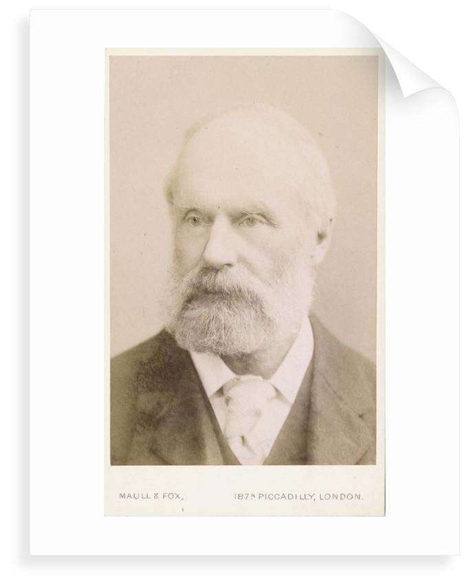 Portrait of Samuel Hawkesley Burbury (1831-1911) by Maull & Fox