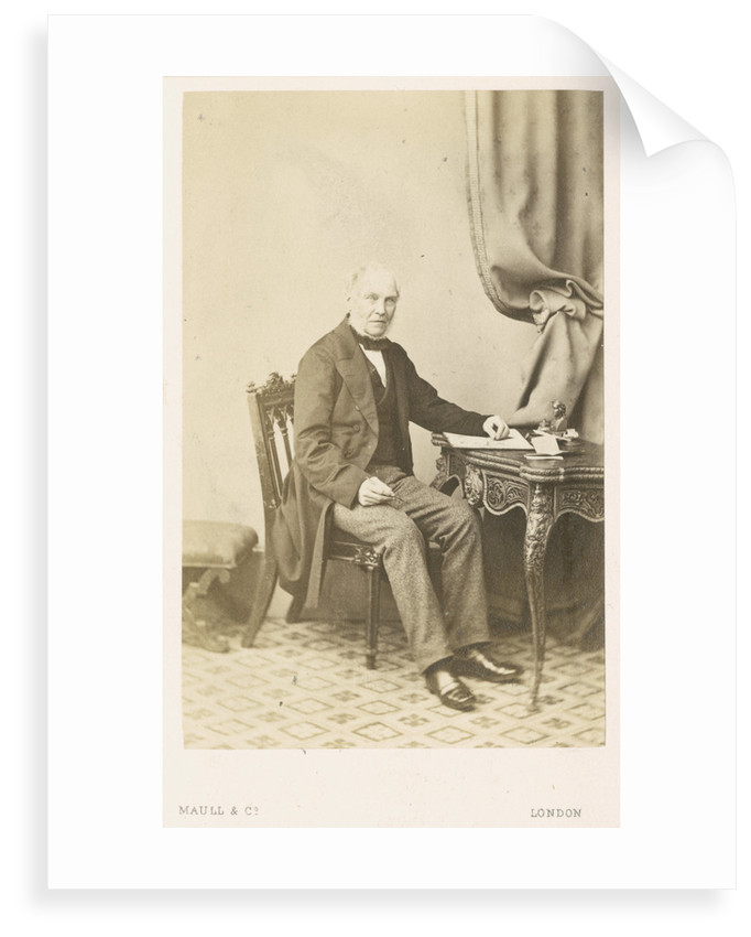 Portrait of Jonathan Cape (1793-1868) by Maull & Co